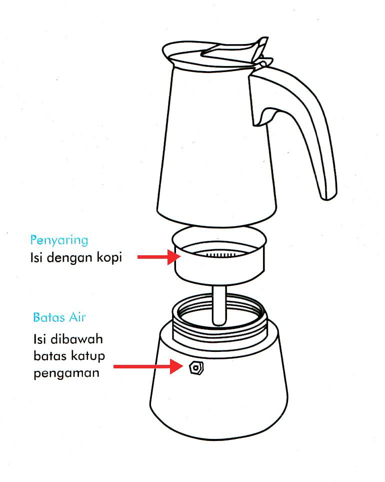 Cara Pakai Coffee Maker Electrolux : Coffee Maker Akebonno Moka Pot Coffee Maker for 4 Cups Kopi Jayakarta - Souvenir Kopi ...